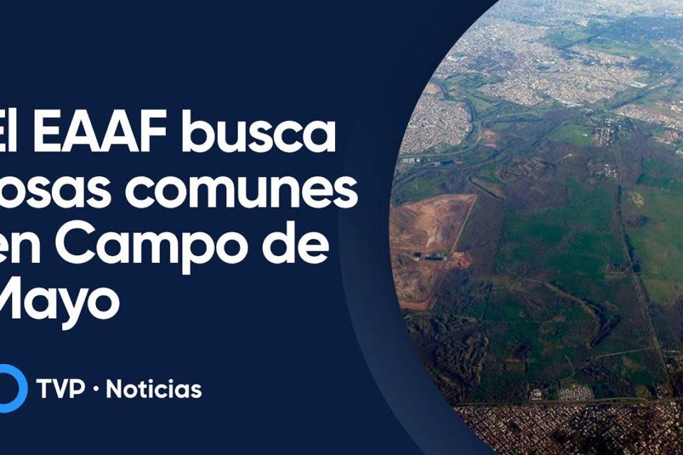 El EAAF busca tumbas de desaparecidos en Campo de Mayo