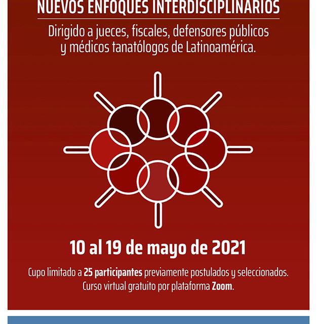 Curso virtual: Investigación forense - nuevos enfoques interdisciplinarios