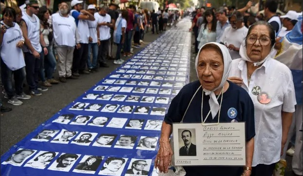 Argentina sends out DNA kits in drive to identify thousands 'disappeared' under dictatorship