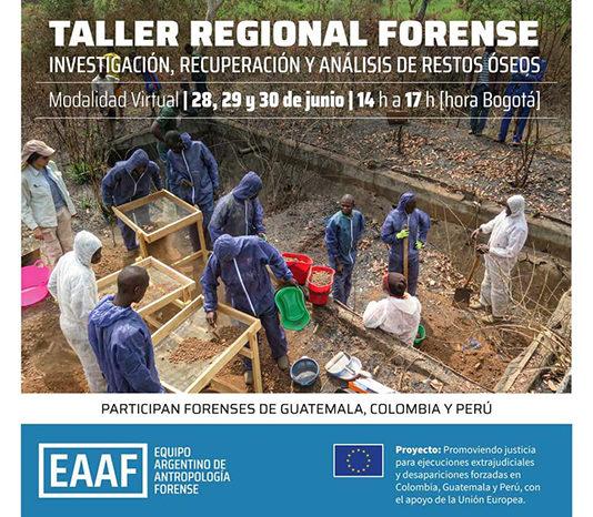 Taller Regional Forense