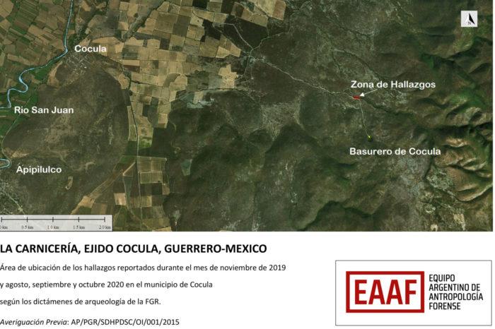 Nuevas coincidencias genéticas de restos recuperados en la Barranca de la Carnicería y familiares de los 43 estudiantes normalistas desaparecidos de Ayotzinapa