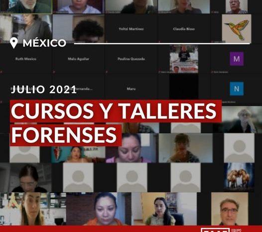 Capacitaciones Forenses en México