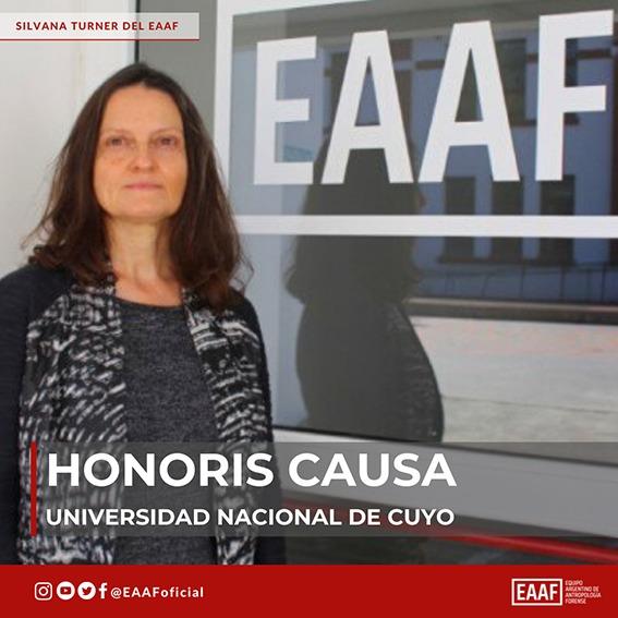 Honoris Causa de la Universidad Nacional de Cuyo a Silvana Turner